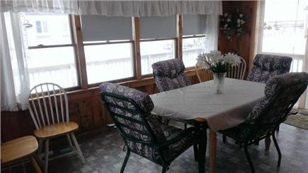 Dennis Port Cape Cod vacation rental - Porch / Dining Area