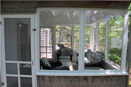 Wellfleet Cape Cod vacation rental - Screened-in porch