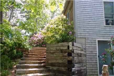 Wellfleet Cape Cod vacation rental - Front stairs