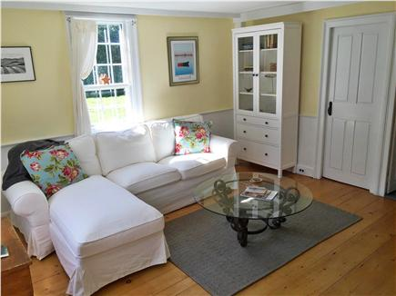 East Orleans Cape Cod vacation rental - Comfortable, sunny living room