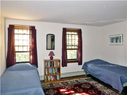Wellfleet Cape Cod vacation rental - Upstairs Bedroom with two twins that can convert to king bed
