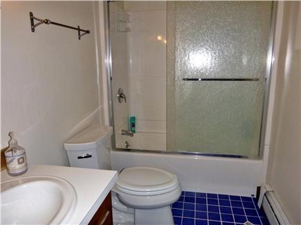 Wellfleet Cape Cod vacation rental - Upstairs Bathroom has full tub and shower