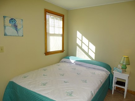South Yarmouth Cape Cod vacation rental - Bedroom 3 - Double bed adjacent to family room, smaller kitchen