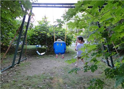 Chatham Cape Cod vacation rental - Enjoy the large yard with swing set