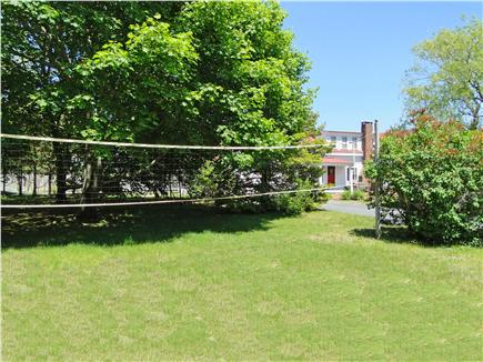 Chatham Cape Cod vacation rental - Large yard with hammock and volley ball