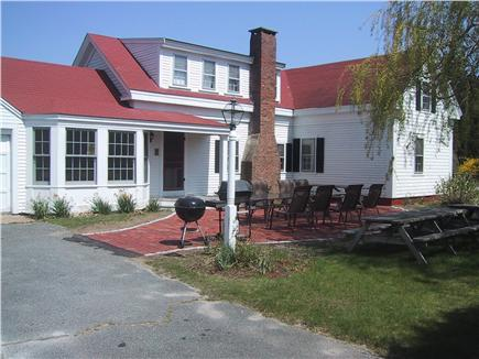 Chatham Cape Cod vacation rental - Grill, relax and enjoy our spacious furnished brick patio
