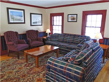 Chatham Cape Cod vacation rental - Living room with two couches and TV