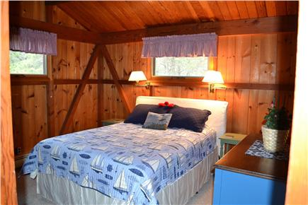 Eastham Cape Cod vacation rental - Master Bedroom with large Master Bathroom