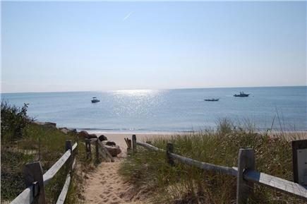 Eastham Cape Cod vacation rental - Short 4 minute walk (0.2 mile) to beach on sandy path