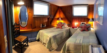 Eastham Cape Cod vacation rental - 3rd bedroom with two twin bed.