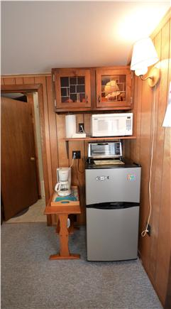 Orleans Cape Cod vacation rental - Kitchenette with fridge/ freezer/ microwave and toaster- Grill