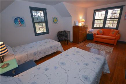 Eastham Cape Cod vacation rental - Bedroom 3 - 2 twins can be pushed together for ''split-king''