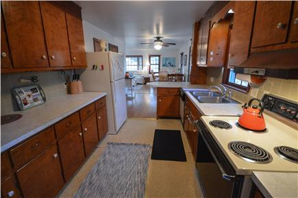 Eastham Cape Cod vacation rental - Simple, clean and well equipped kitchen