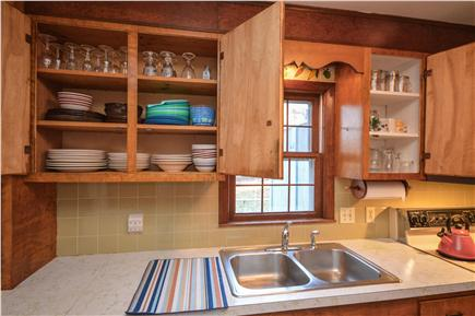 Eastham Cape Cod vacation rental - Dishes, flatware and cooking utensils are  provided