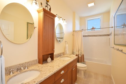 East Sandwich Cape Cod vacation rental - Full bathroom with double sinks