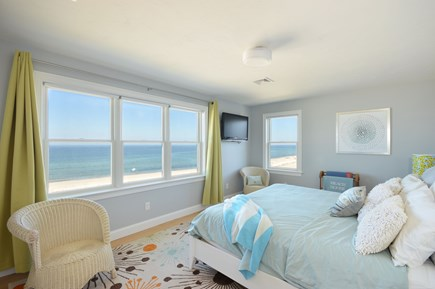 East Sandwich Cape Cod vacation rental - Oceanfront master bedroom