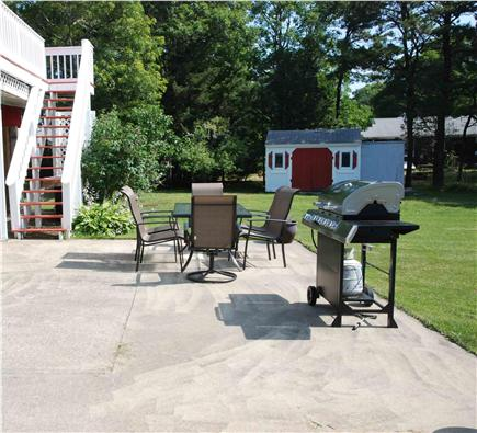 West Yarmouth Cape Cod vacation rental - Patio