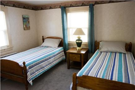 West Yarmouth Cape Cod vacation rental - Bedroom 2 with two twin beds, built-in's