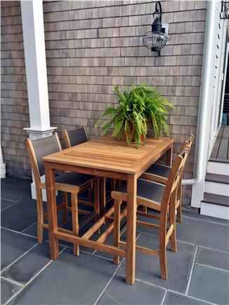 North Chatham, Half a mile to  Cape Cod vacation rental - Dinner on the patio