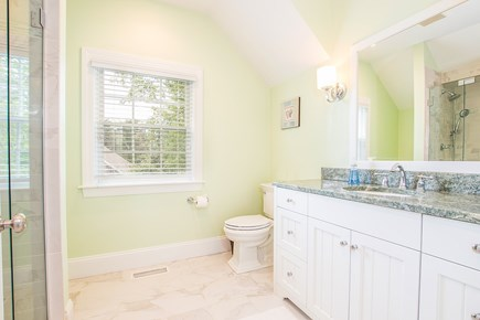 North Chatham, Half a mile to  Cape Cod vacation rental - 2nd floor master bath with Large walk-in shower