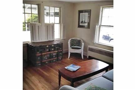 Dennis Port Cape Cod vacation rental - Cozy den off front porch.