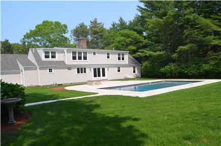 Osterville Osterville vacation rental - Heated pool in back yard.  Private 1.7 acre lot.