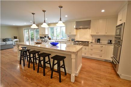 Osterville Osterville vacation rental - Gourmet kitchen great for entertaining, slider to patio.