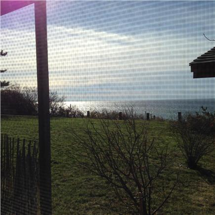 North Truro Cape Cod vacation rental - Water view from screened in porch