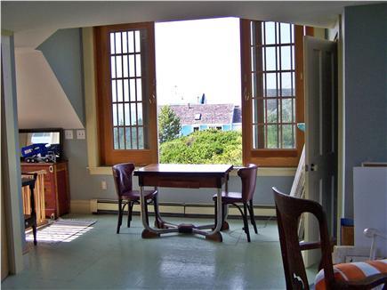 North Truro Cape Cod vacation rental - Water view west barn second floor bedroom