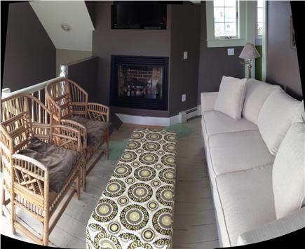 North Truro Cape Cod vacation rental - Living room on 2nd floor of cottage