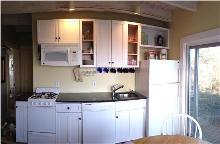 North Truro Cape Cod vacation rental - Kitchen on first floor of cottage
