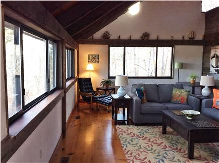 Wellfleet Cape Cod vacation rental - Living room. Now has 2 additional arm chairs.