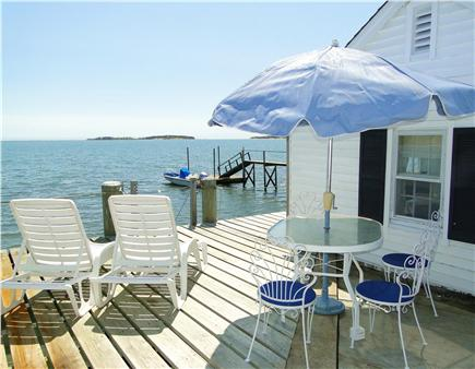 South Orleans Cape Cod vacation rental - Incredible sights and sounds in waterfront boathouse