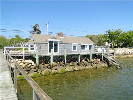 South Orleans Cape Cod vacation rental - View of entire house from end of dock
