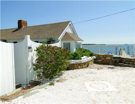Pleasant Bay, South Orleans Cape Cod vacation rental - Front of the house, two parking spaces