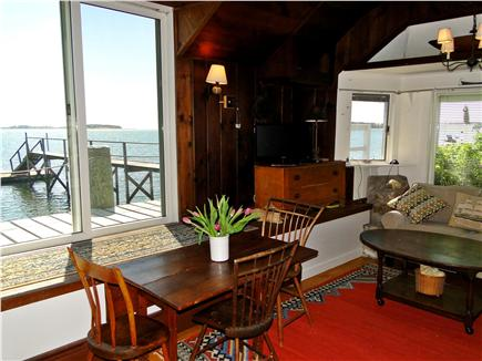 South Orleans Cape Cod vacation rental - Living room offers expansive Pleasant Bay water views