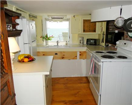 South Orleans Cape Cod vacation rental - Fully-equipped galley kitchen with more water views