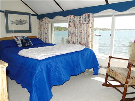 Pleasant Bay, South Orleans Cape Cod vacation rental - Queen size Master bedroom, panoramic views