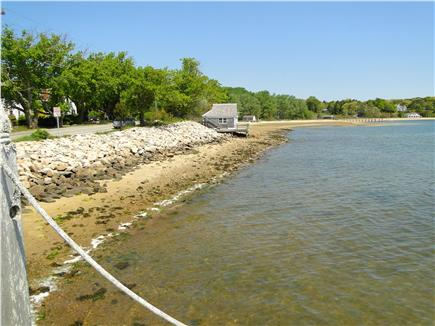 Pleasant Bay, South Orleans Cape Cod vacation rental - Beach area next door to the house – swim, kayak