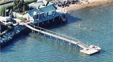 Pleasant Bay, South Orleans Cape Cod vacation rental - A seagull's view of the Boathouse.