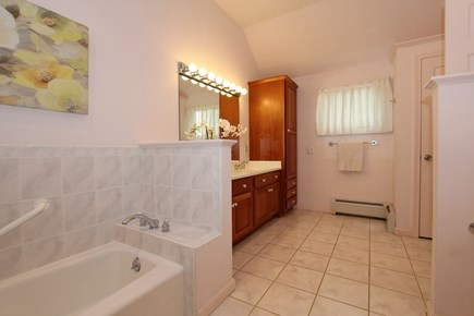 Eastham Cape Cod vacation rental - Spacious Master Bath with Tub and Shower