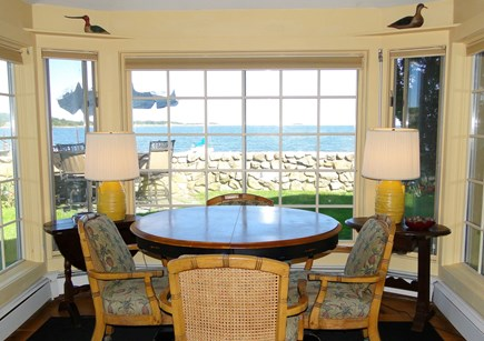South Orleans Cape Cod vacation rental - The breakfast nook - with amazing views!