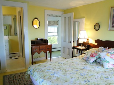 South Orleans Cape Cod vacation rental - The yellow bedroom suite.