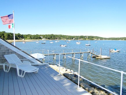 South Orleans Cape Cod vacation rental - View from the sun deck off the Cabin.