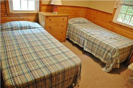 South Chatham Cape Cod vacation rental - Bedroom with one full and one twin sized bed