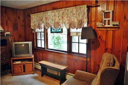 South Chatham Cape Cod vacation rental - Living Room with large picture windows to let in all the sunshine