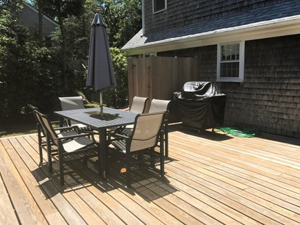 Brewster Cape Cod vacation rental - Spacious outdoor seating with access to pool