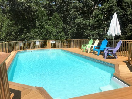 Brewster Cape Cod vacation rental - Private unheated pool