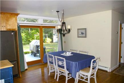 Eastham Cape Cod vacation rental - Dining area plus large deck