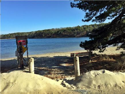 Chatham Cape Cod vacation rental - Schoolhouse Pond with fresh water and a great beach for children.